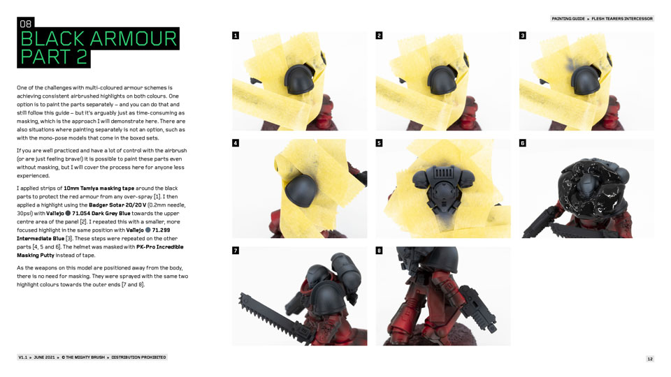 How to paint Flesh Tearers PDF painting guide